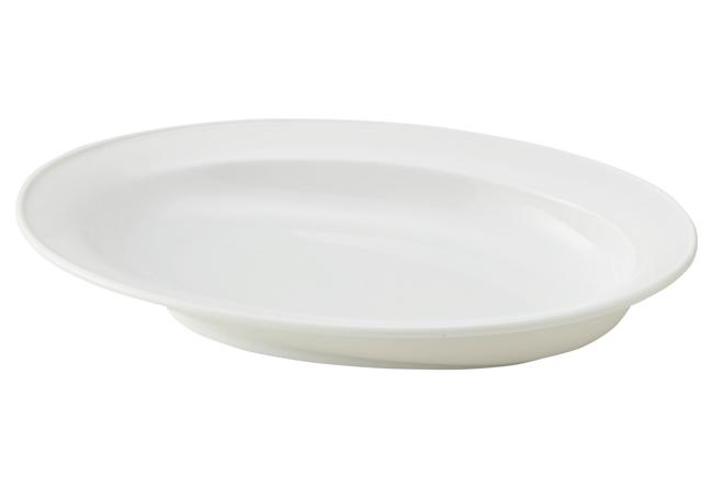 カレー専用皿 白 画像1