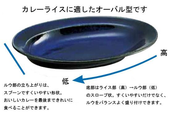 カレー専用皿 白 画像4