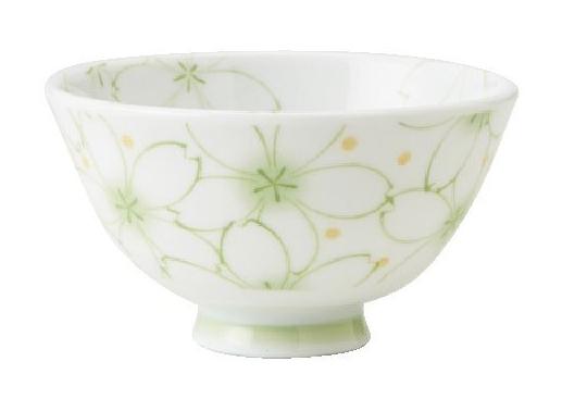 咲くら(ヒワ)茶碗(うすかるUK葵型)