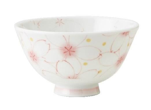 咲くら(ピンク)茶碗(うすかるUK葵型)